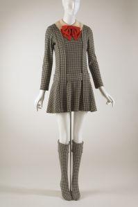 """Rudi Gernreich """"Japanese Schoolgirl"""" ensemble, Fall 1967"""