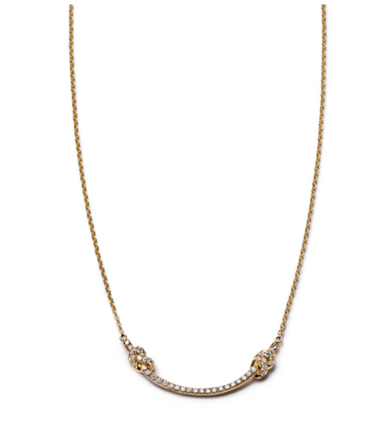 Nora Kogan Smile Necklace, $3,850, NoraKogan.com