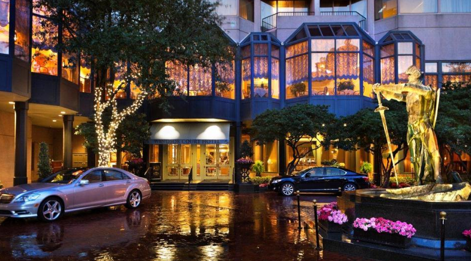 The Windsor Court Hotel in New Orleans