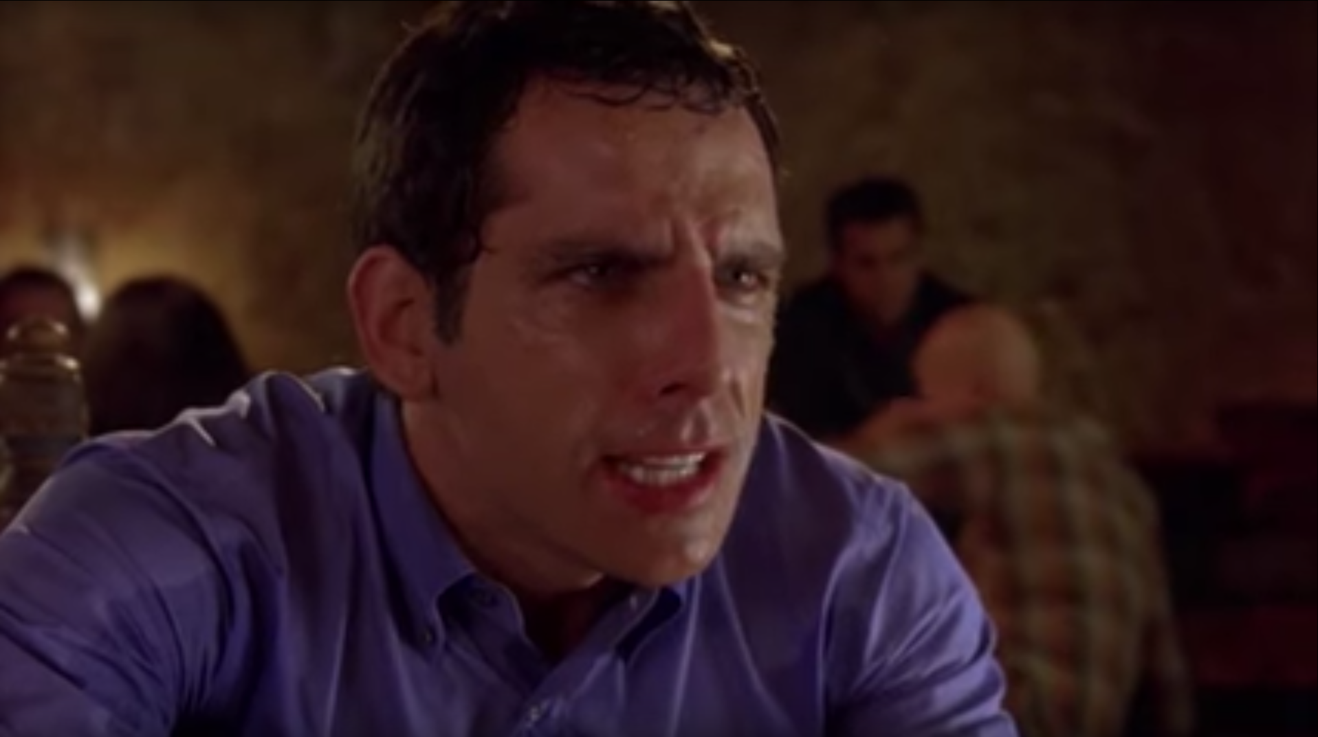 In Along Came Polly, a first date goes awry when spicy food does not sit well