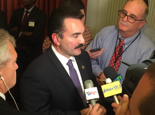 Prieto after Monday's committee hearing, where a newly amended Atlantic City takeover bill advanced