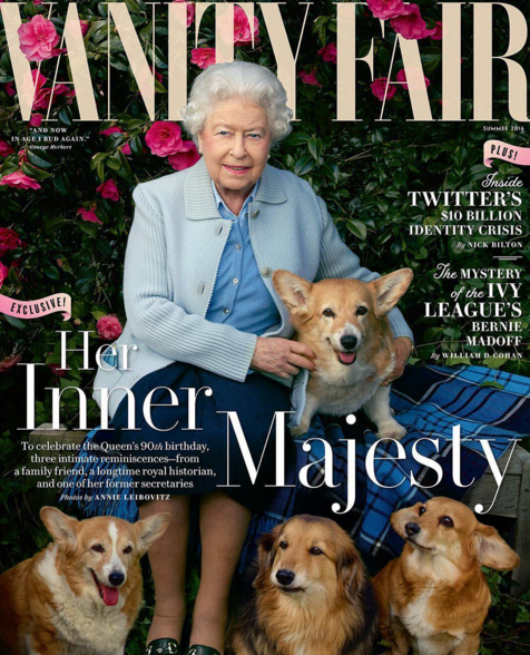 """Vanity Fair's latest cover delves into """"her inner majesty."""""""