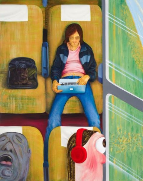 Nicole Eisenman, Weeks on the Train, 2015.