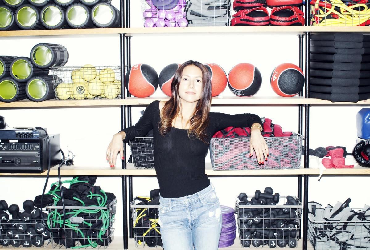 Vanessa Packer, the founder of modelFIT.