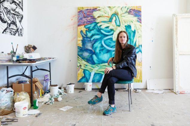 Artist Victoria Roth.