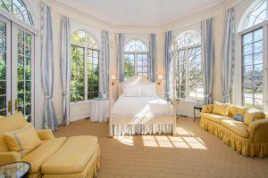 One of nine bedrooms...