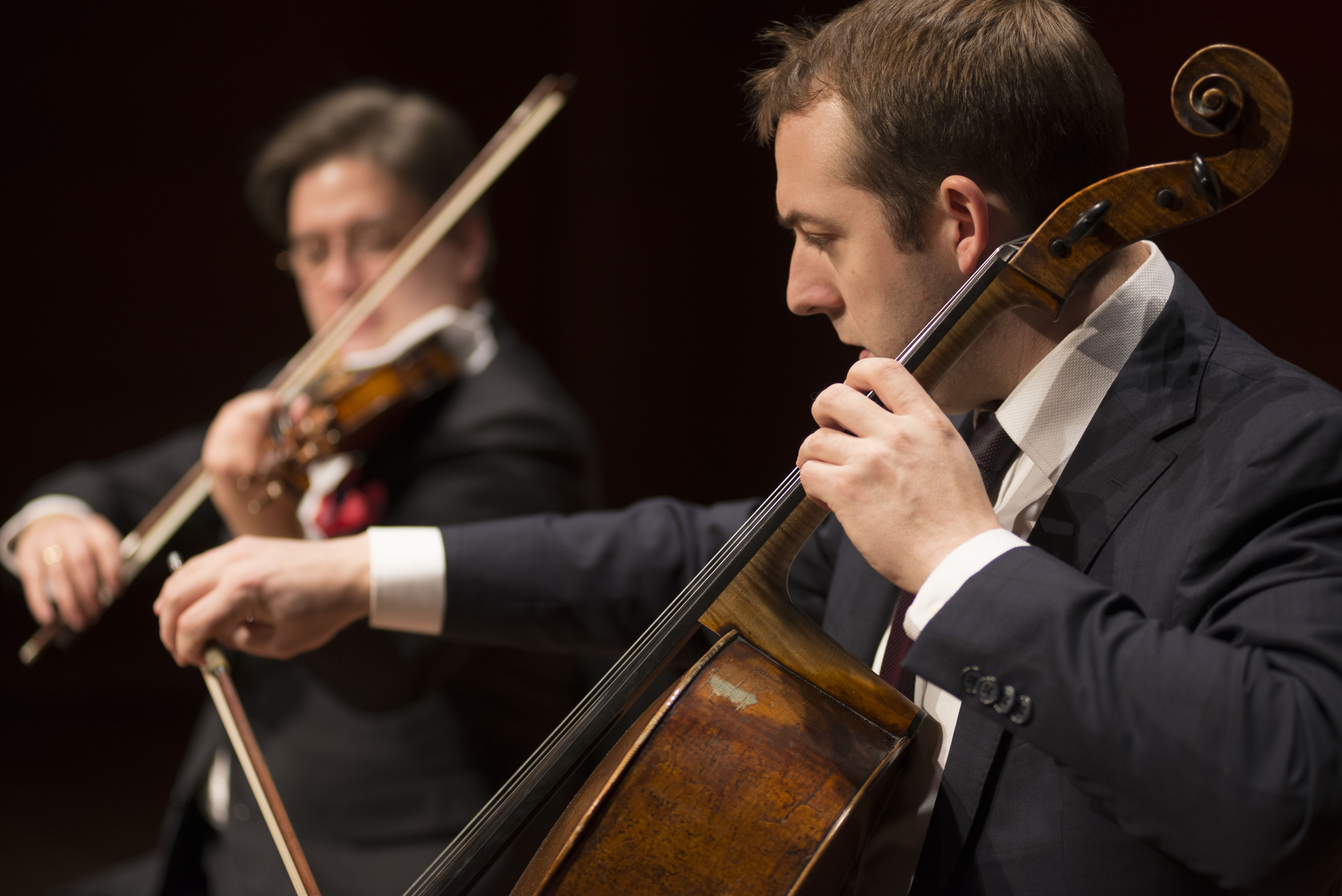 The Chamber Music Society of Lincoln Center performs at Alice Tully Hall