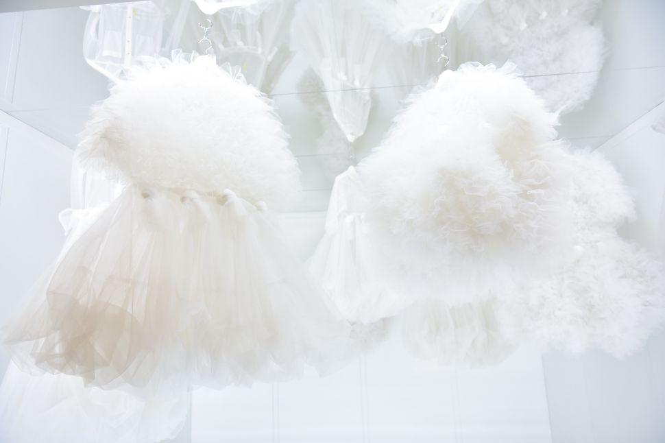 Cloud dresses by Italo Marseglia