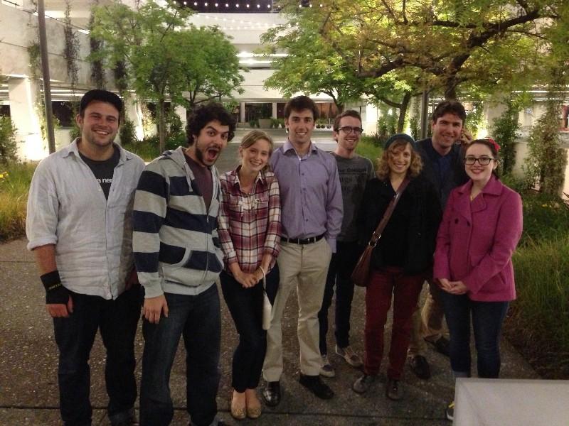 From left—Jake, Murad, Tasia, Eric, Josh T, Shellie, Ryan Sara