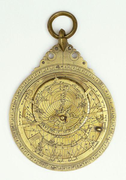 Astrolabe Muhammad b. Abi-l-Qasim b. Bakran al-Najjar al- Isfahani al-Salihani Iran, Isfahan, dated A.H.. 496/A.D. 1102–3