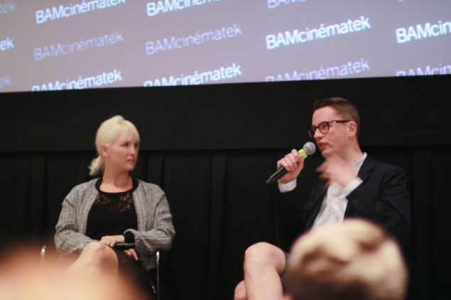 """Nicolas Winding Refn speaks at a Q and A following a screening of his new film """"The Neon Demon"""" in Brooklyn"""