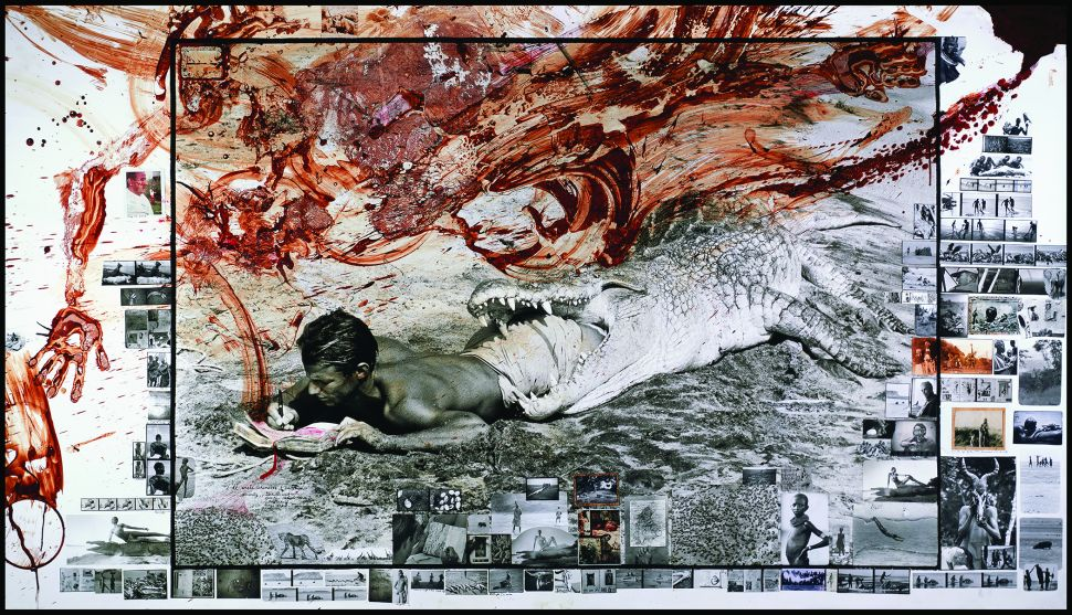 Peter Beard, I'll Write Whenever I Can..., 1965/2004.