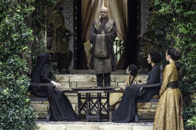 Granny Tyrell Meets The Dorn. Photo: HBO
