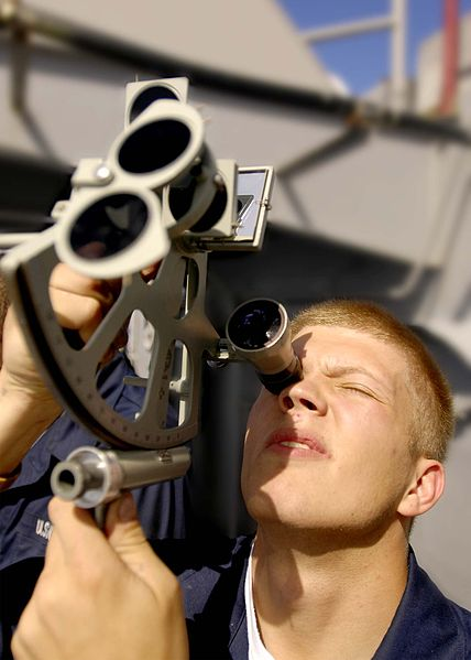 More important than you might think: using a sextant