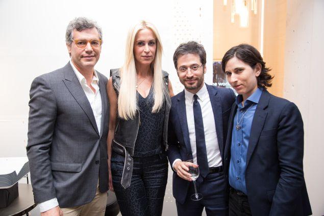 "Jason Benjamin, Kara Council, Daniel Friedman and ""Mel"" Plaut"