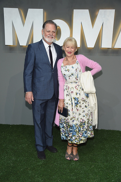 Director Taylor Hackford and actress Helen Mirren attend the 2016 Museum of Modern Art Party in the Garden at Museum of Modern Art on June 1, 2016 in New York City.