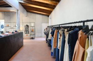 LOS ANGELES, CA - Rachel Comey's Los Angeles store sits in good company on Melrose Avenue.
