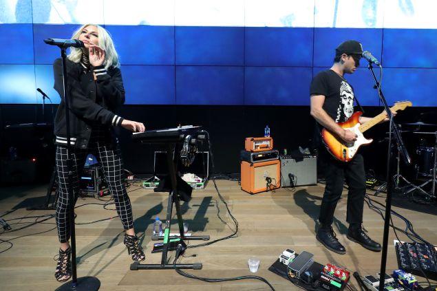 Phantogram performs at Samsung 837