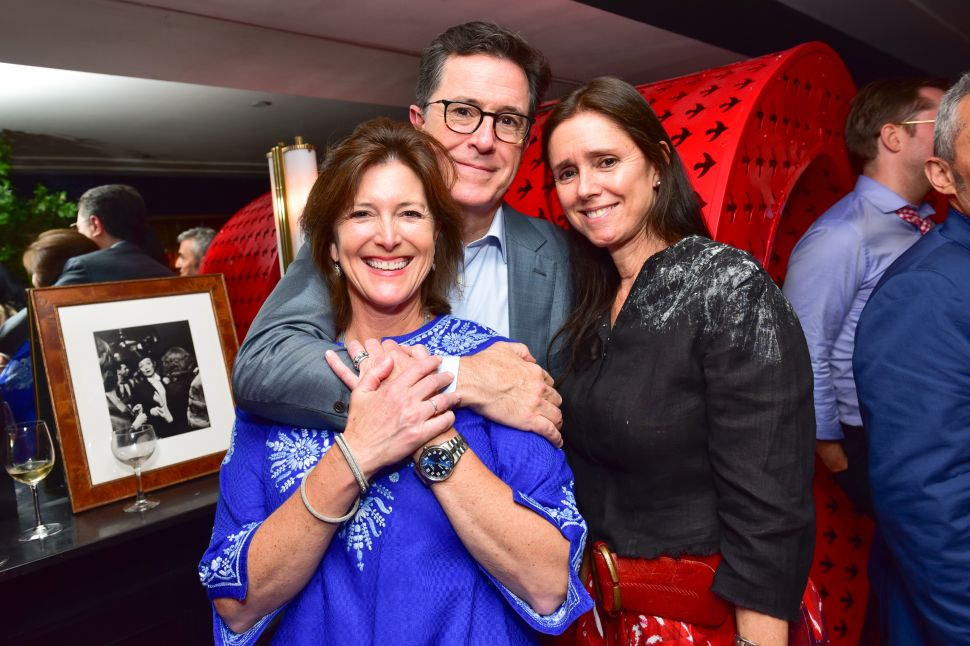 Evelyn McGee-Colbert, Stephen Colbert, Julie Taymor
