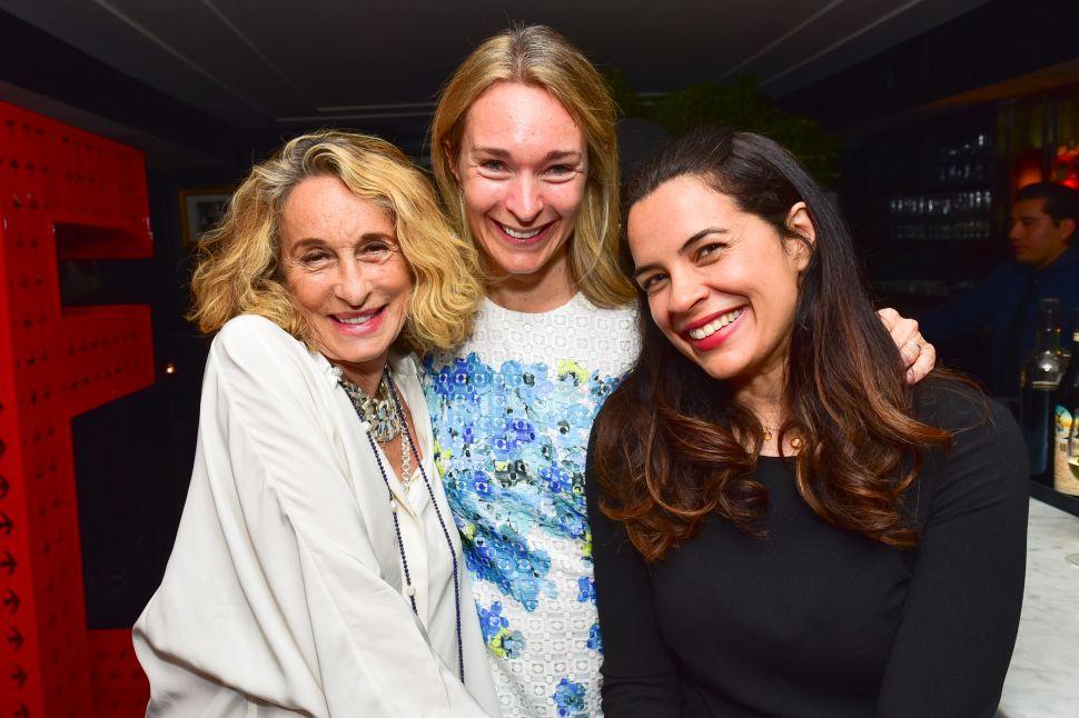 Anne Dexter-Jones, Celine Rattray, Zuleikha Robinson