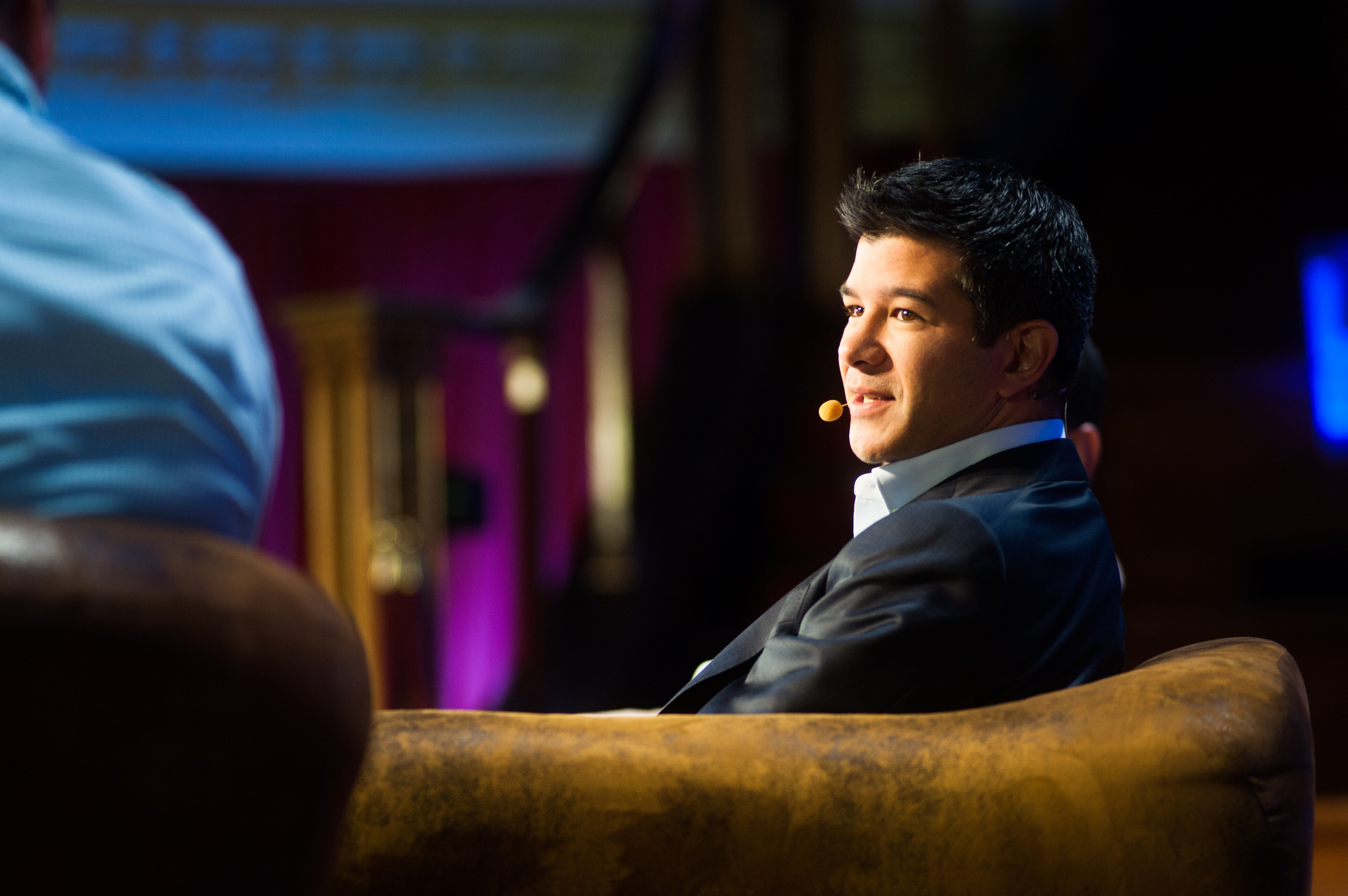 Co-founder and CEO of Uber Travis Kalanick.