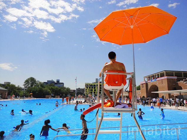 McCarren Park pool.