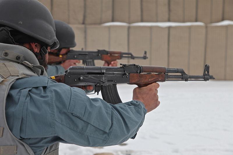 Technology makes killing easier: the AK-47