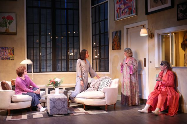 Angelica Fiordellisi, Francesca Choy-Kee, Judith Ivey and Estelle Parsons.