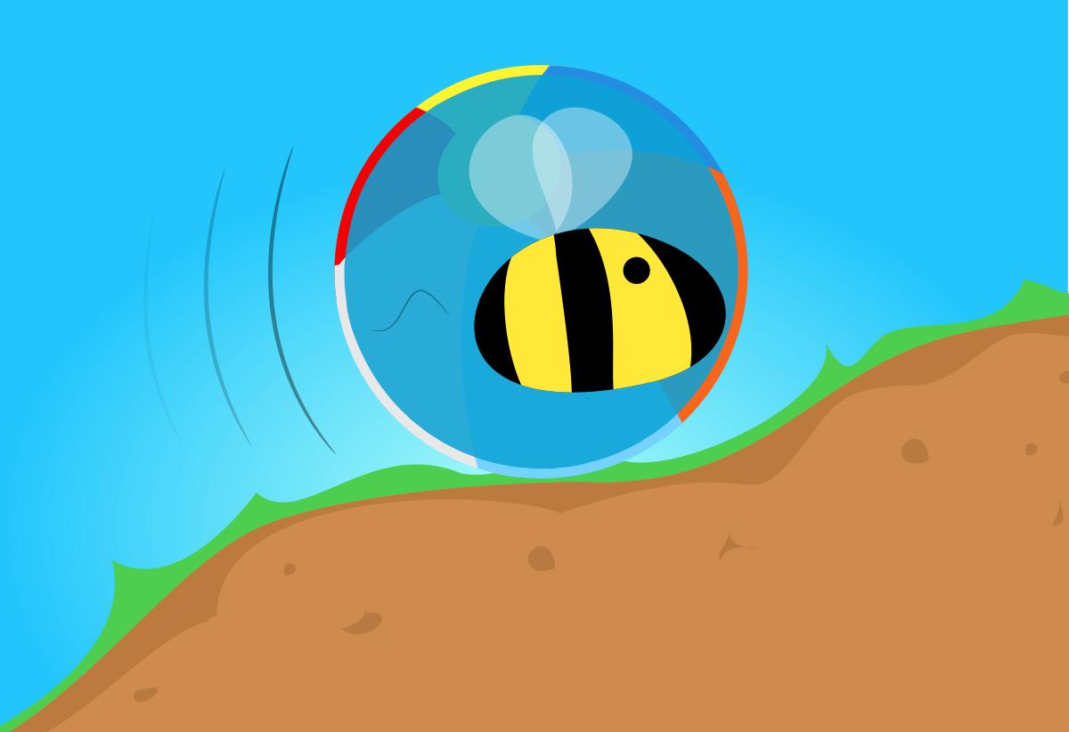 Become one giant bumblebee