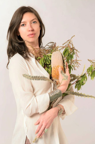 Brandy Monique founded and makes her skincare line Fig + Yarrow.