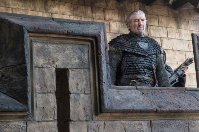 """Clive Russell as Brynden """"Blackfish"""" Tully on Game of Thrones."""