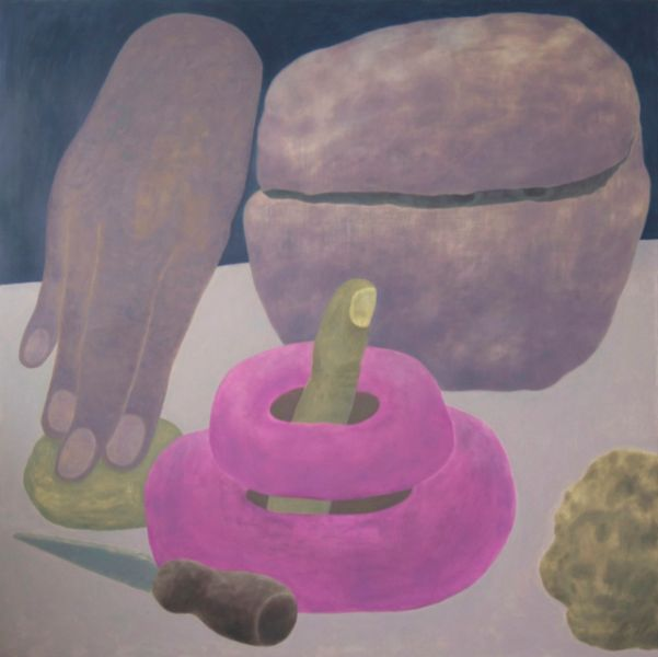 Ginny Casey, Pressing Matter, 2015.