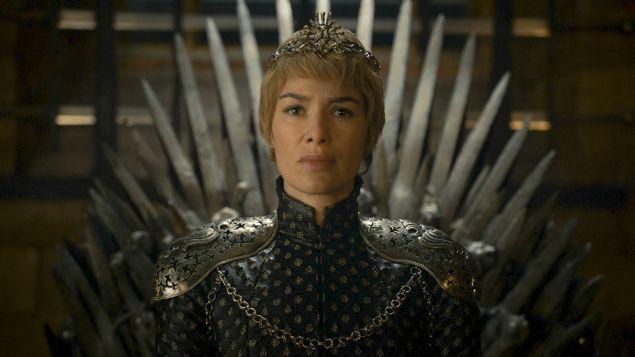 Lena Headey as Cersei Lannister.
