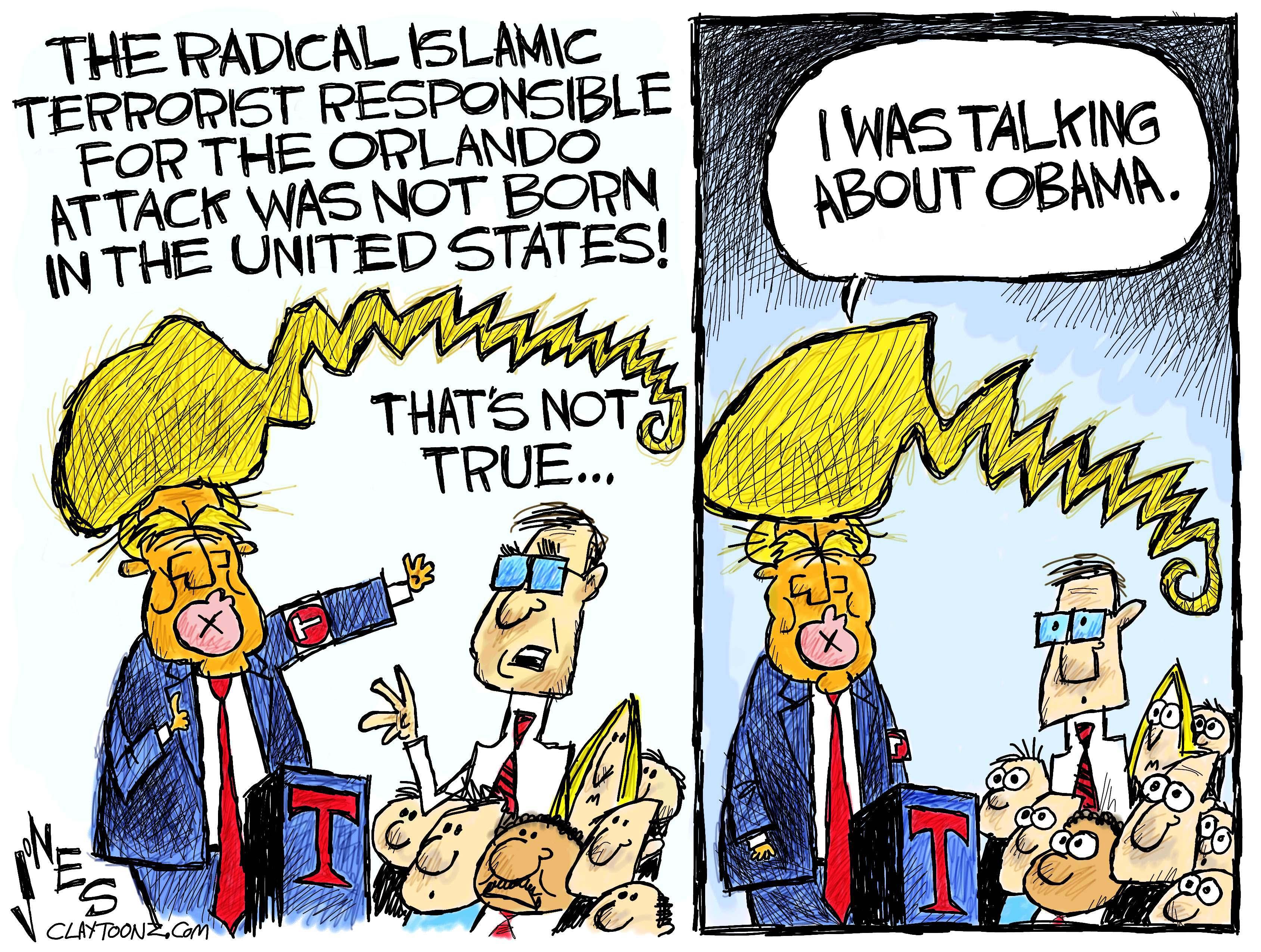 Trump's Tantrum On Terror