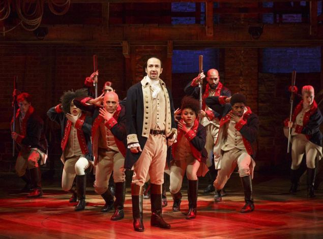 Lin-Manuel Miranda and the company of 'Hamilton' didn't throw away their shot at internet fame.
