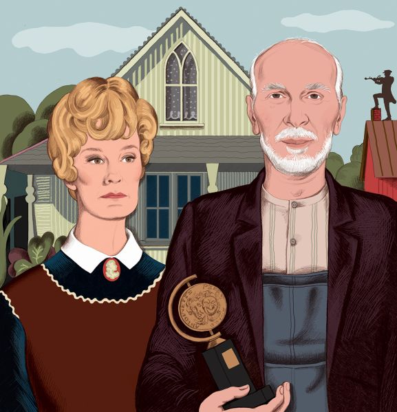 Will Jessica Lange and Frank Langella win Tony Awards for their roles in plays this season?
