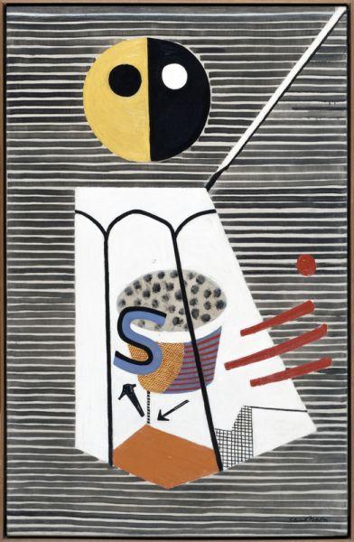 Stuart Davis, Salt Shaker, 1931.