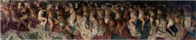 Vincent Desiderio, Sleep.