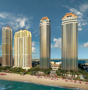 The towers will be completed in 2020.