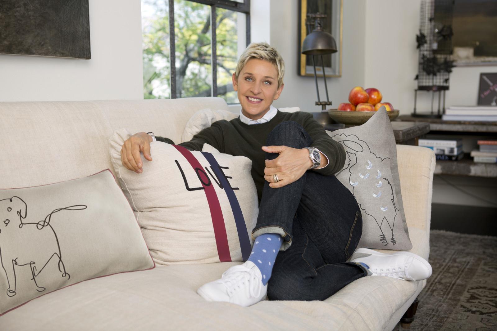 Ellen's ready.