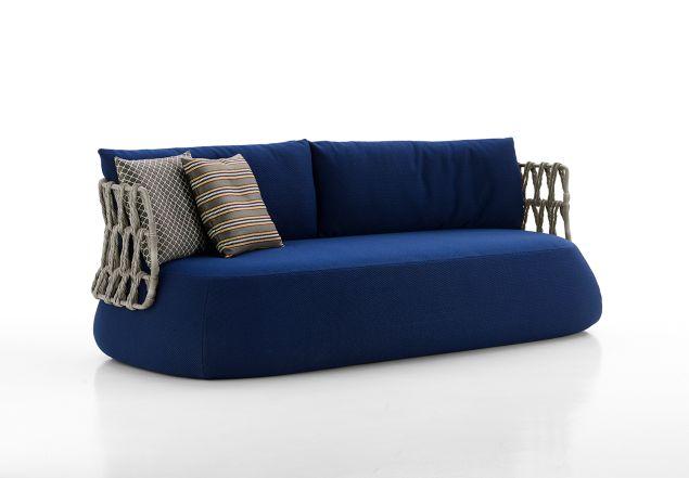 Fat-Sofa Outdoor by Patricia Urquiola, from $9,732, B&B Italia Soho, 138 Greene Street, New York, NY, 10012, 800-872-1697.