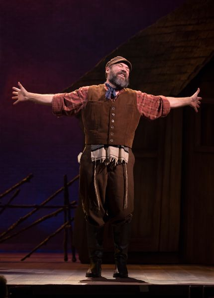 Danny Burstein performing 'If I Were a Rich Man' in 'Fiddler on the Roof.'