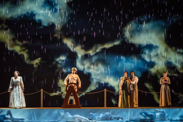 Florencia en el Amazonas at The New York City Opera.