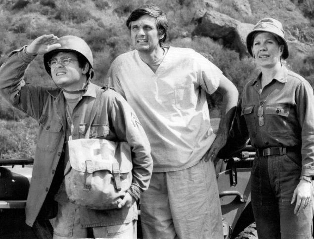 Unfortunately, this photo is all we have to remember HBO's Vinyl by, no, no, wait—this is a still from M*A*S*H.