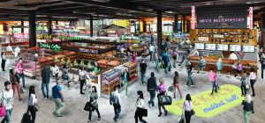 A rendering of Dekalb Market Hall.