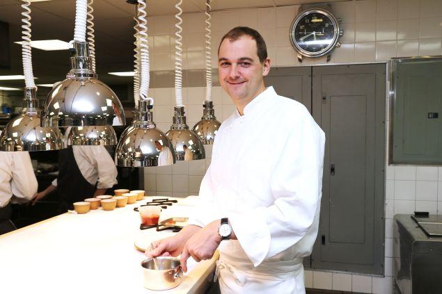 Chef Daniel Humm of Eleven Madison Park