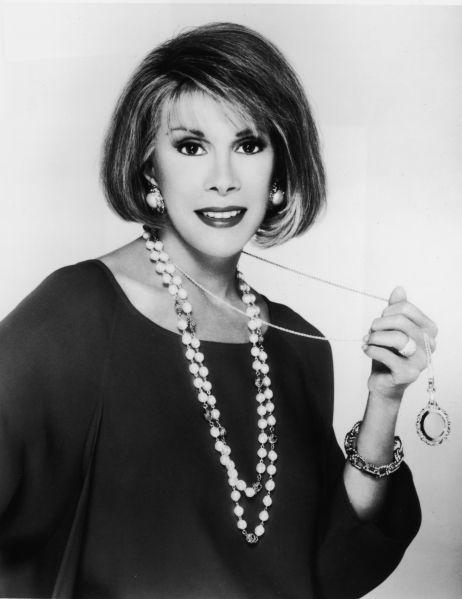 Joan Rivers, 1980s.