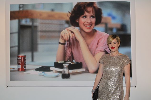 Everyone's favorite 1980s Brat Packer Molly Ringwald is bidding farewell to the East Village.