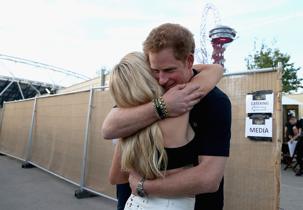 Prince Harry and his future wife (maybe).