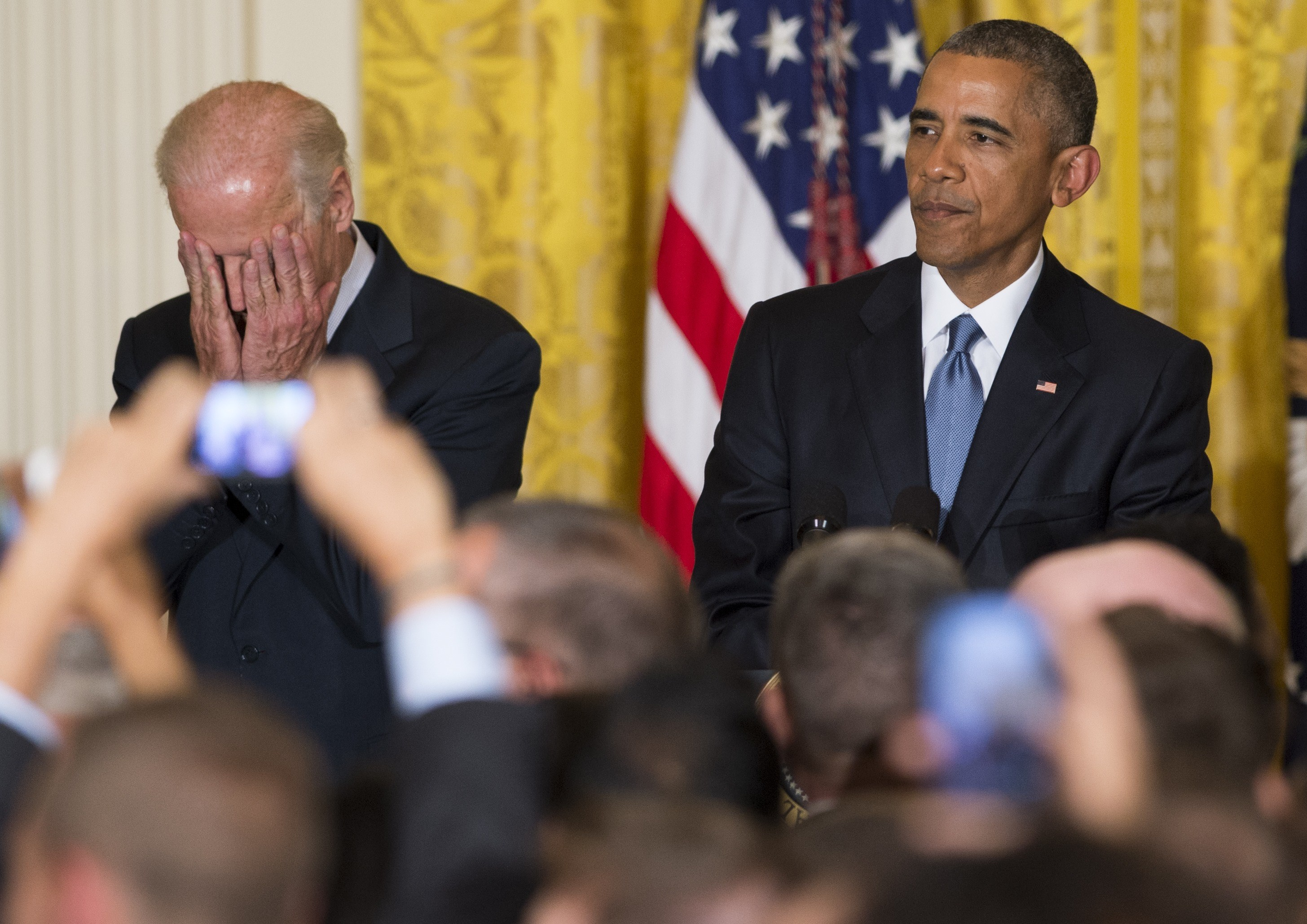 President Barack Obama and Vice President Joseph Biden.